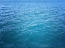 Oceaanwaterachtergrond Royalty-vrije Stock Afbeelding