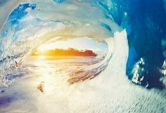 Oceaen Wave at Sunrise Stock Photography