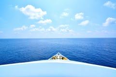 Oceam από το σκάφος Στοκ Φωτογραφία