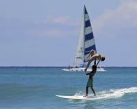Oceanów sporty Obrazy Royalty Free