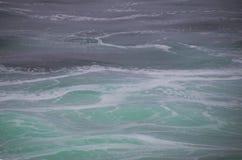 oceanów zawijasy Zdjęcie Stock