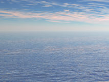 Ocean. Calm ocean background royalty free stock image