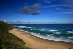 Ocean. View of  ocean along the Great Ocean Road, Melbourne, Australia Royalty Free Stock Photo