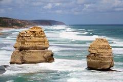 Ocean. 12 Apostles on the Great Ocean Road Royalty Free Stock Image