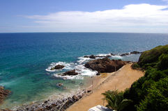 Ocean. Horizon and sea royalty free stock photos