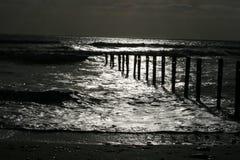 Ocean. Waves on coast in west cork ireland Stock Photos