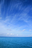 Ocean. Landscape of an maldivian ocean Stock Photography