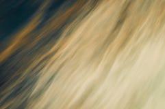 Ocean Abstract. Long exposure of flowing ocean water Royalty Free Stock Images