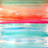 Ocean. Abstract watercolor background. Stock Image