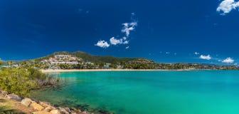 Airlie Beach, Whitsundays, Queensland Australia. Ocean at Airlie Beach, Whitsundays, Queensland Australia Stock Photography