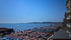 Ocean in Albania stock video footage