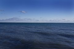 Ocean And Sky Royalty Free Stock Photo