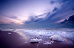 Free Ocean At Night Stock Photos - 1415863