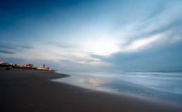Free Ocean At Night Stock Image - 1415871