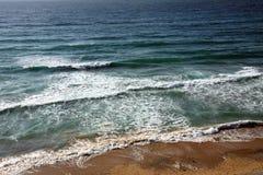 The ocean atlantic in Morocco. Coast of the ocean atlantic in Morocco royalty free stock photos