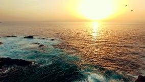 ocean atlantycki słońca zbiory wideo