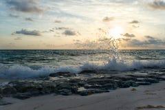 ocean atlantycki wschód słońca Fotografia Royalty Free