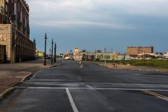 Ocean Avenue in Asbury Park Royalty Free Stock Images