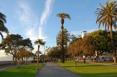Ocean Avenue, Santa Monica Royalty Free Stock Photo