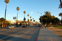 Ocean Avenue, Santa Monica Royalty Free Stock Images
