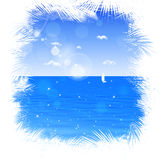 Ocean Background Royalty Free Stock Photo