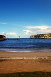 Ocean bay Stock Photo