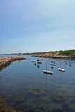 Ocean bay Stock Images