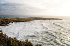 Ocean bay in Donegal County, ireland. Stock Image
