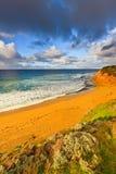 Ocean beach. Beach near Great Ocean Road, VIC, Australia Royalty Free Stock Photo