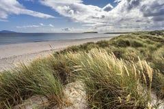 Ocean Beach. Beach on the Atlantic side of Ireland, county Mayo Royalty Free Stock Photos