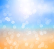 Ocean beach blurred background Royalty Free Stock Photo