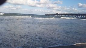 Ocean beach royalty free stock photo