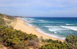 Ocean beach at Portsea, Victoria, Australia Stock Images