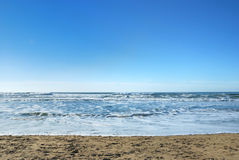Ocean Beach in San Francisco California Royalty Free Stock Photos