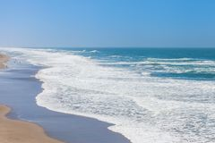 Ocean Beach in San Francisco, California. USA stock image