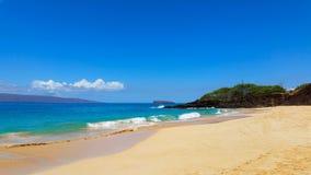 Ocean Beach Scene, Maui, Hawaii Royalty Free Stock Photos