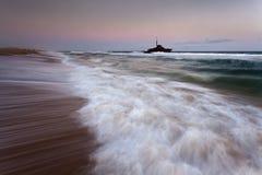 Ocean Beach Sygna Set Royalty Free Stock Images