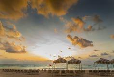 Ocean Beauty At Sunrise Stock Photo
