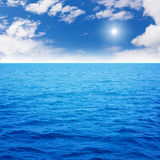 Ocean blue royalty free stock image