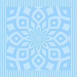 Ocean blue mandala Stock Photos