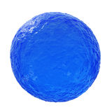Ocean blue sphere Royalty Free Stock Photos
