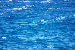 Ocean blue water background Royalty Free Stock Photo