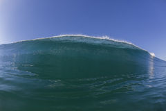 Ocean Blue Wave Royalty Free Stock Images