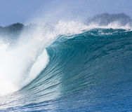 Ocean Blue Wave Royalty Free Stock Photo