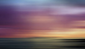 Ocean blur Royalty Free Stock Photography