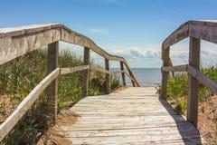 Ocean Boardwalk Stock Photos