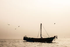 Ocean and Boat Stock Images