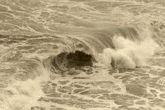 Ocean boils Stock Photo