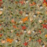 Ocean Bottom. Seamless Texture Tile from Photo Originals Stock Photos