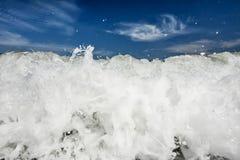 Ocean breakwater Royalty Free Stock Photo